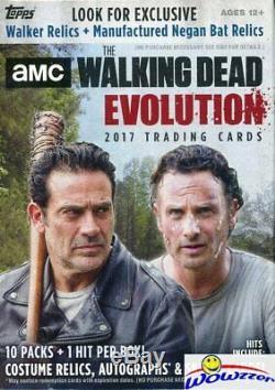 (5) 2017 Amc Topps The Walking Dead Evolution Special Blaster Box-5 Hits