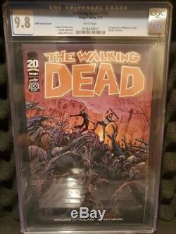 (8) Walking Dead # 100 Variations 1er Negan Et Lucille Décès De Glenn Cgc 9.8