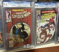 Amazing Spider-man 150-801 Vol 2 1-58 Tous Les Cgc 9.8 238 252 298 299 300 301 361 36