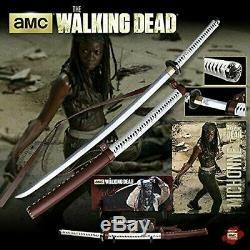 Amc The Walking Dead Licence Officielle Michonne Samurai Sword Katana Lame