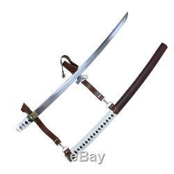 Années Walking Dead Samurai Sword-michonne Katana Zombie Killer Forgée Main Pleine