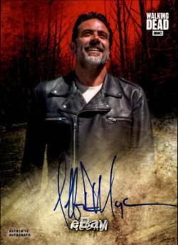 Autographe Topps Walking Dead Alexandria 2018 Jeffrey Dean Morgan Negan Auto 1/1