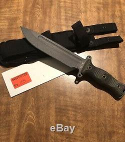 Busse Combat Team Gemini Brigade Légère Infi Walking Dead Couteau Daryl Withsheath