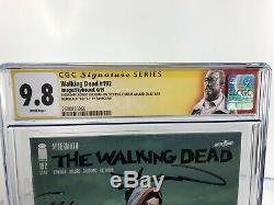 Ccsd 2019 The Walking Dead # 192 Cgc 9.8 Signé Robert Kirkman & Adlard 66/192