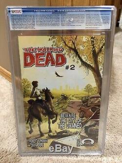 Cgc 9.8 Dead # 1 Walking Image Comics 2003 1st App Graal Rick Grimes Livre Rare
