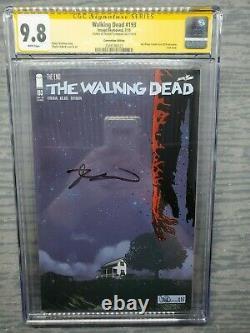 Cgc Graded 9.8 Walking Dead #193 Sdcc 2019 Exclusive Signé Par Robert Kirkman