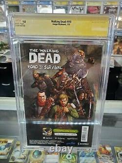 Cgc Graded 9.8 Walking Dead #193 Signé Par Robert Kirkman First Print