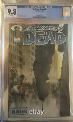 Cgc Graded 9.8 Walking Dead First Print #4
