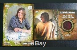 Collection De Cartes D'esquisse Automatique De Walking Dead Dead Autograph Relic Lot À Voir Absolument