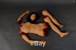 Corps D'autopsie Grandeur Nature Accessoire Halloween Le Cadavre Et La Décoration Walking Dead