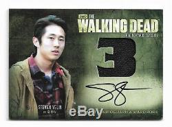 Cryptozoic The Walking Dead Season 3 Part 1 & 2 Autograph Armoire Ensemble Complet