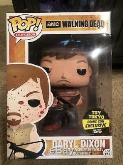 Daryl Dixon Walking Dead Funko Pop 9 10 Sanglante Toy Tokyo LD 300 Graal Voutée