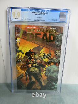 Dead Dealking Deluxe #1 Gold Foil Edition Cgc 9.9 Mint! Image Comics (2020)