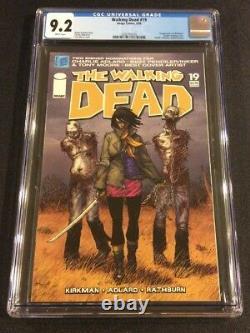Débat De Walking #19 Comic Book Cgc Graded 9.2 1re Apparance Michonne 1ère Impression