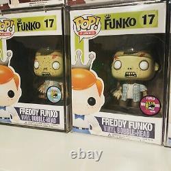 Freddy Funko Pop 1/12 Bloody + 1/240 Rv Walker Walking Dead Zombie Le12 Le240