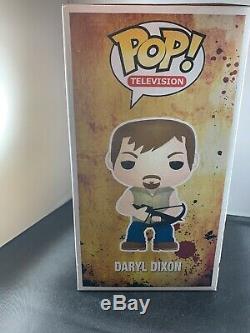 Funko Pop! Amc Le Géant De The Walking Dead, Daryl Dixon, 9 Pouces, Rare, Voûté, Retraité