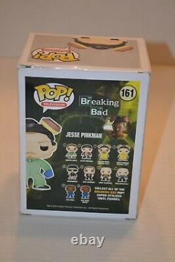 Funko Pop Breaking Bad #161 Jesse Pinkman Vert Hazmat Ee Exclusive