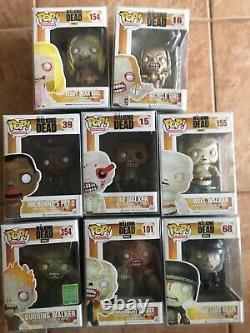 Funko Pop! L'ensemble De Zombies Mortes De Marche De 8 Pops