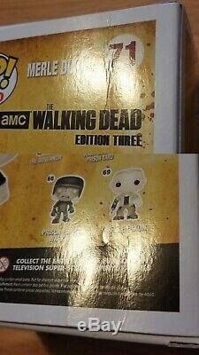 Funko Pop! Le Zombie Qui Marche Dead Merle Dixon # 71