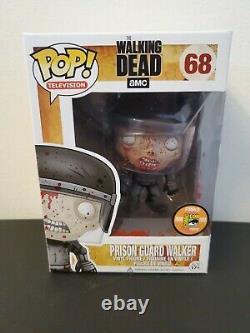 Funko Pop! Prison Guard Walker #68 Sdcc 2013 Le Mort Walking Bloody