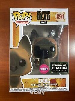 Funko Pop Télévision Amc Alimentation Chute The Walking Dead Dog Floqués