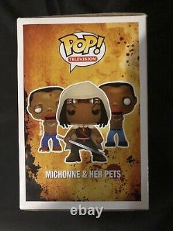Funko Pop! Télévision The Walking Dead Michonne & Her Pets Px Exclusive 3 Pack