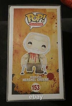 Funko Pop The Walking Dead Hershel Greene (headless) Convention D'été