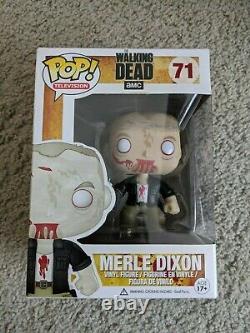 Funko Pop The Walking Dead Merle Dixon (zombie) #71