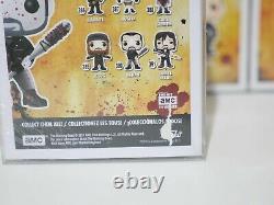 Funko Pop Walking Dead Lot Of (30) Bloody Daryl, Michonne, Shiva. Avec Protecteurs