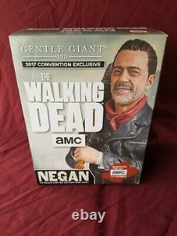 Gentle Giant The Walking Dead Negan Sdcc 2017 Mini Buste Exclusive #6/350 Faible #