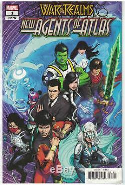 Guerre Des Royaumes Nouveaux Agents De L'atlas # 1 150 Variante De Zircher Marvel 2019 Vf / Nm
