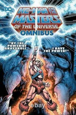 He-man & The Masters Of The Universe Omnibus Hardcover DC Comics Hc Srp 150 $