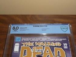Image Comics The Walking Dead #19 1st Michonne Cbcs 8.0 Pages Blanches Twd