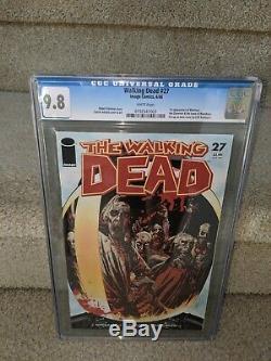 Image Comics The Walking Dead # 27 Cgc 9,8 Nm + / M 1er App Le Gouverneur Woodbury