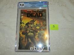 Image Exclusive Skybound The Walking Dead #1 Deluxe Black Foil Edition Cgc 9.8 B