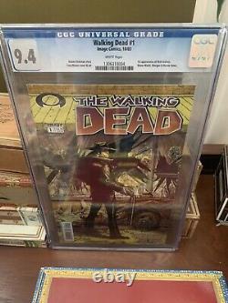 Image The Walking Dead #1 Cgc 9.4 Hot Comic 1er Rick Grimes. Twd Kirkman