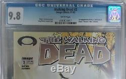 Image The Walking Dead # 1 Et # 2 Les Deux Cgc 9.8 Premières Impressions! Livraison Gratuite
