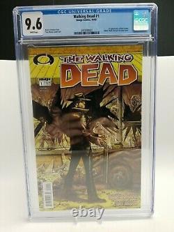 Image The Walking Dead #1 Robert Kirkman Tony Moore 1ère Impression Cgc 9.6 Amc 2003