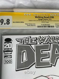Initiative Walking Dead Hero Rob Guillory Cgc 9.8