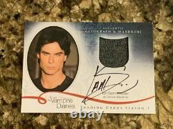 Journaux Vampire Saison 3 Ian Somerhalder En Tant Que Damon Auto Armoire Carte # Am3