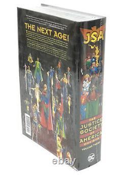 Jsa Justice Society Of America Omnibus Volume Trois Hc DC Comics Nouveau 150 $