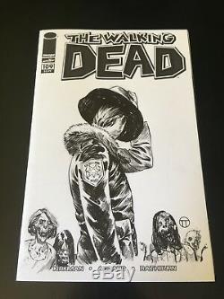 Julian Tedesco Walking Dead Sketch De Son Art Variante Originale Lire La Description