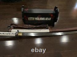 L'épée De Samurai De L'amc La Marche Morte De Michonne / Katana Edition Signature #1474