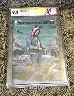 La Bande Dessinée Walking Dead N ° 192 De Sdcc 2019 Signée Par Kirkman Adlard N ° 17/192 De La Ccg 9.8