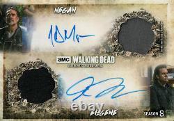 La Marche Morte Saison 8, Negan / Eugene Dual Autograph Relic Card #01/10