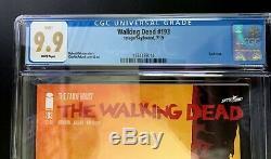 La Mort # 193 Walking Cgc 9.9! Dernier Numéro De La Série! Graded Mieux Que Cgc 9.8