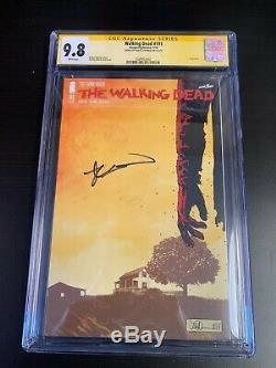 La Mort 193 Walking Numéro Final 1er Print Signée Par Robert Kirkman Cgc 9.8