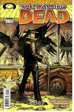 La Mort # 1 Walking Année 8,5 Première Impression! -robert Kirkman Tony