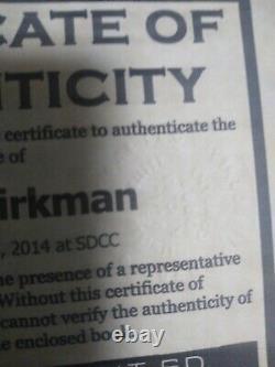 La Première Apparition De Michonne #19, Signée Par Rob Kirkman