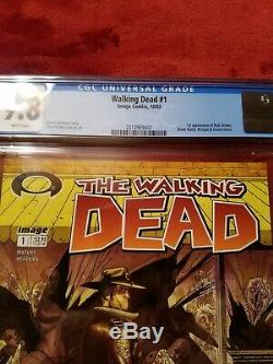La Question Walking Dead 1 1ère Impression Cgc 9.8